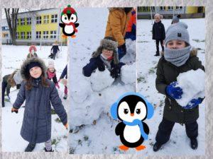 Zabawy na sniegu klasy II