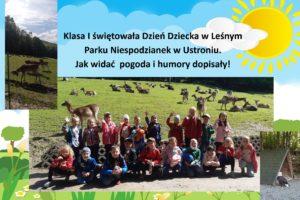 Dzień Dziecka klasa 1