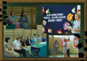 Zakończenie roku szkolnego 2020-2021 klasA 8