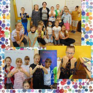 Dzień Kropki- uczniowie klasy 3 i 4