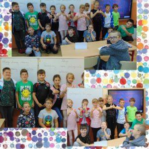 Dzień Kropki- uczniowie klasy 4