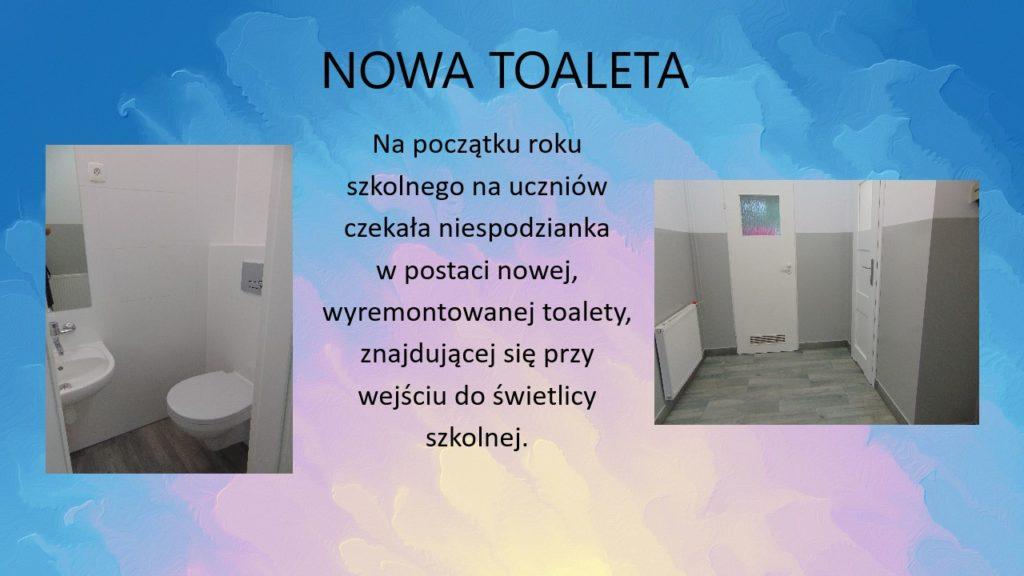 Nowa toaleta